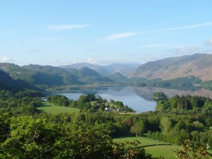 Derwentwater viewed from Castlehead