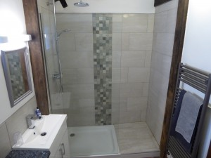 New ensuite shower